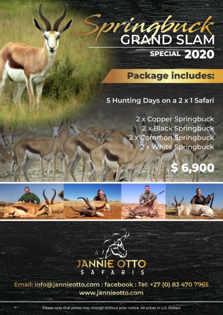 Spring Buck Grand Slam Special 2020