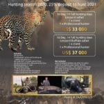 Tanzania – Selous Game Reserve 16 Day Packages