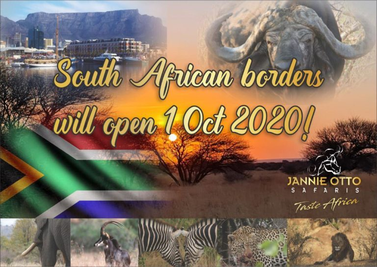South African Borders Will Open 1 October 2020